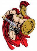 Spartan Mascot poster