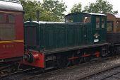 Diesel Shunterat Bolton Abbey Station