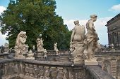Roof sculptures, Zwinger Palace