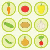 Icon Set - Vegetables