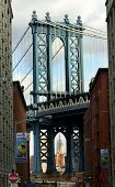Manhattan Bridge from Brooklyn side