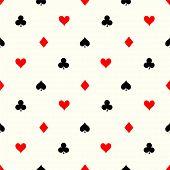Seamless Poker Pattern