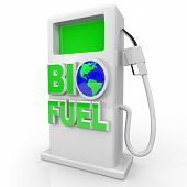 Biofuel - Green Gas Pump Station