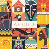 Постер, плакат: Africa