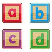 Abcd Baby Blocks