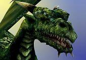 Dragon Portrait poster