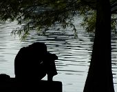 Depressive Menschen