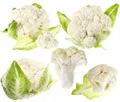 cauliflower, cabbage