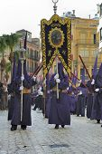 Semana Santa In Malaga, Spain