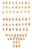 Alphabet Set Fuzzy Wuzzy A To Z