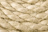 Jute rope background