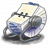 Rolodex Card File