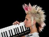 Profile Of Punk Musician