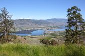 Osoyoos Town and Lake, British Columbia