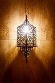 Ornate Metal Lamp
