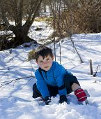 Child On The Snow