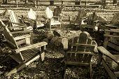 Chairs Around Firepit