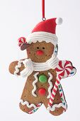 Gingerbreadman Christmas Ornament
