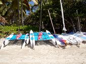 Beached Sailboats