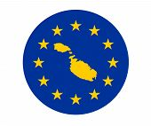 Malta European Flag