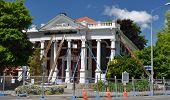 Terremoto de Christchurch - salvar el edificio de la Iglesia Bautista.