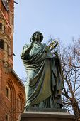 monument of great astronomer Nicolaus Copernicus