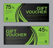 Gift Voucher Template, Sale Banner, Discount Cards, Coupon Template, Gift Certificate, Headers, Webs poster