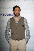 PASADENA - APR 18:  Silas Weir Mitchell  arrives at the NBCUniversal Summer Press Day at The Langham