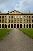 stock photo of magdalene  - Facade of Magdalen College New Building - JPG