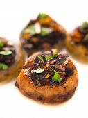 sauteed button mushrooms