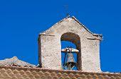 Church of the Rosary. Pietramontecorvino. Puglia. Italy.