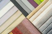 Catalog Of Multicolored Cloth From Matting Fabric Texture Background, Silk Fabric Texture, Textile I poster