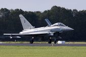 Eurofighter landing
