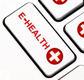 E-Health keyboard key