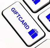 Giftcard key on keyboard