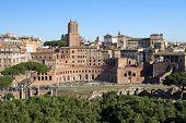 Forum van Trajanus In Rome, Italië