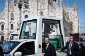 Pope Benedict XVI in Milan, Italy