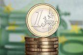 Een Euro-munt