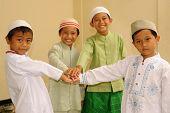 Freundschaft, muslimische Kinder