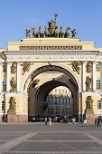Arch Building - General Army Staff Building In Saint Petersburg