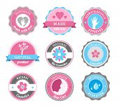 Beauty And Cosmetics Badges