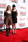 LOS ANGELES - FEB 17:  Kirsten Vangsness, Pauley Perrette arrive at the 2013 Streamy Awards at the H