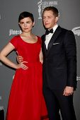 LOS ANGELES - FEB 19:  Ginnifer Goodwin, Josh Dallas arrive at the 15th Annual Costume Designers Gui