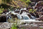 Redrock Lake Falls