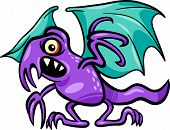 Basilisk Monster Cartoon Illustration