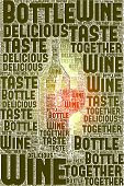 An image of nice Wine text cloud