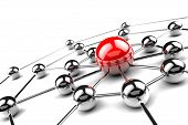 foto of intranet  - Internet and networking concept  - JPG