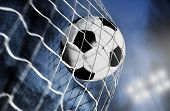 picture of lamp post  - soccer ball - JPG