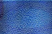 Blue Air Bubbles