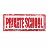 Private School-stamp